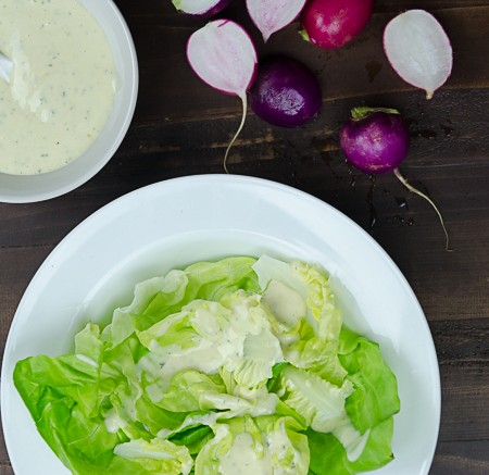 Our Best Homemade Ranch Dressing with Kefir and Herbs