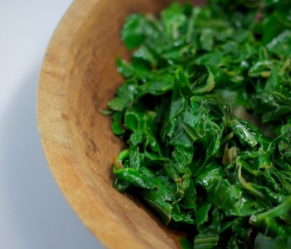 Sauteed Greens with Garlic