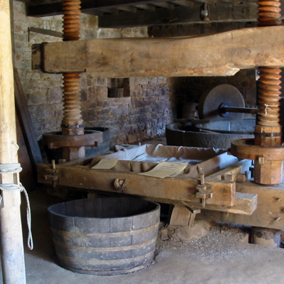 Really, Really Traditional Cider Press
