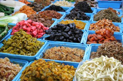 Okinawan Market Foods