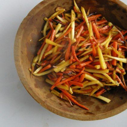 Maple-glazed Root Vegetables
