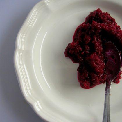 Probiotic Apple & Beetroot Relish
