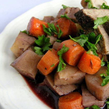 Beef Pot Roast with Winter Root Vegetables