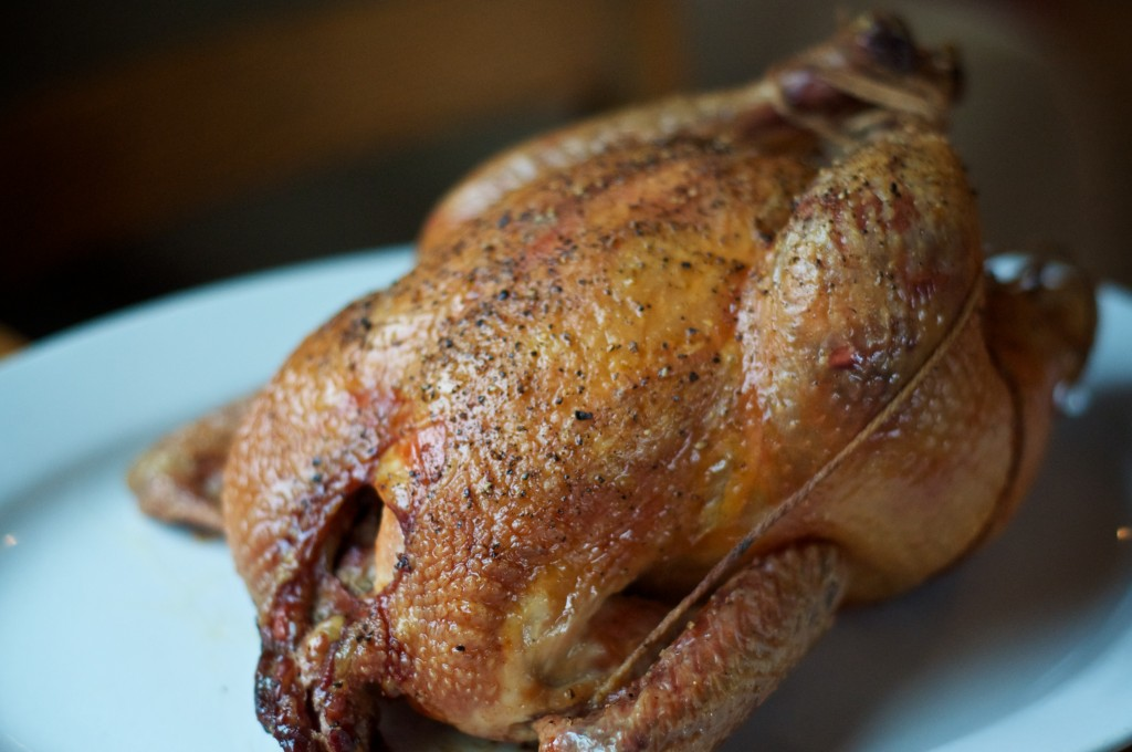 A Recipe: Minimalist Roast Chicken