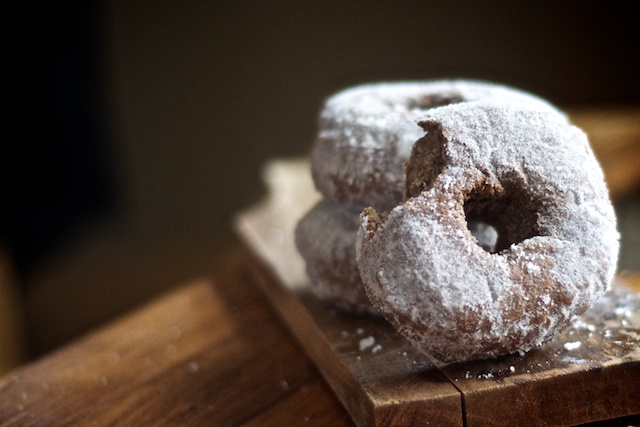 Buckwheat Sourdoughnuts