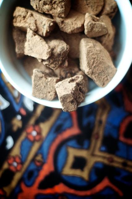 mayan chocolate truffles