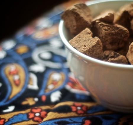 Rustic Mayan Chocolate Truffles