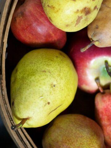 apple pears sauce