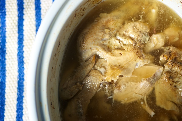 Perpetual soup the easiest bone broth youll make nourished kitchen chicken broth slow cooker forumfinder Image collections