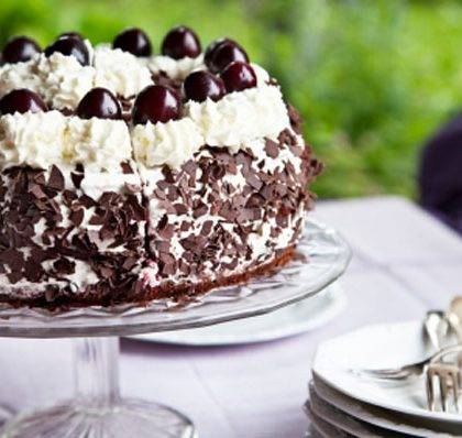 Sourdough Black Forest Cake
