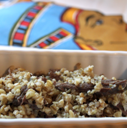 Get Freekeh with Ancient Grains: Braised Lamb with Freekeh Pilaf