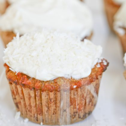 A Story of Recovery (and a Recipe for Grain-free Carrot Cupcakes with Honey Cream Cheese Frosting)