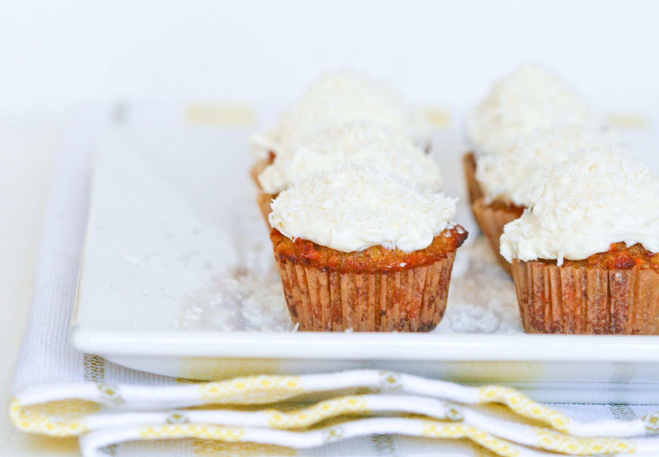 Deliciously Organic Grain-free Carrot Cupcakes — Nourished ...