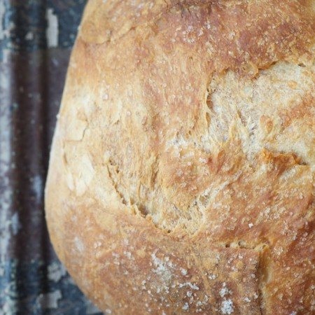 Our Daily Bread: No-knead Sourdough
