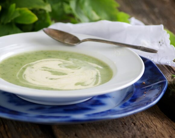Lovage Soup: one of my favorte soups for spring.