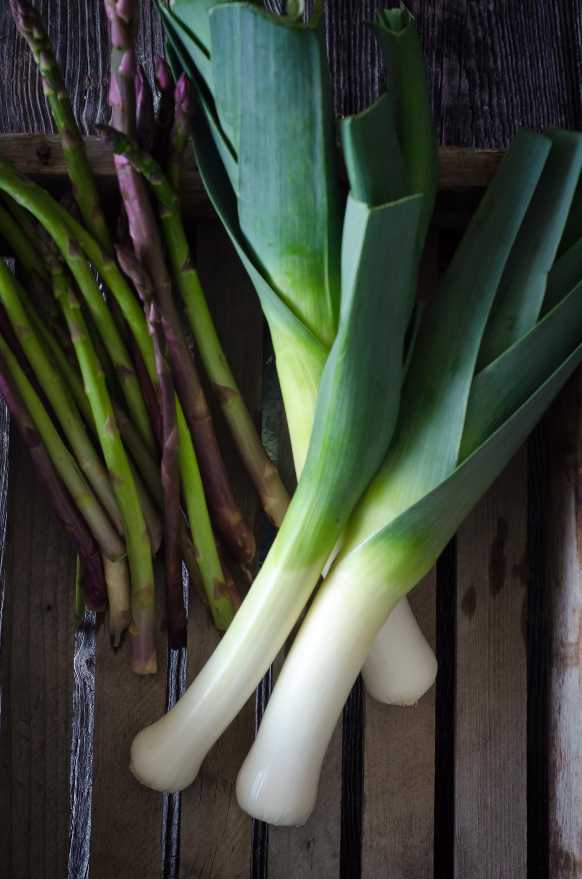 asparagus soup - ingredients