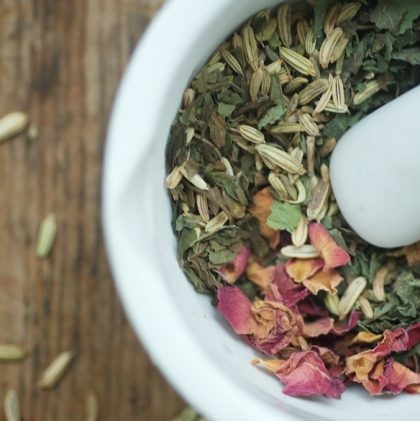 Sleepy Tea for Overtired Children (and grownups, too)