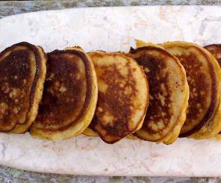 Grain-free Apple Cinnamon Pancakes