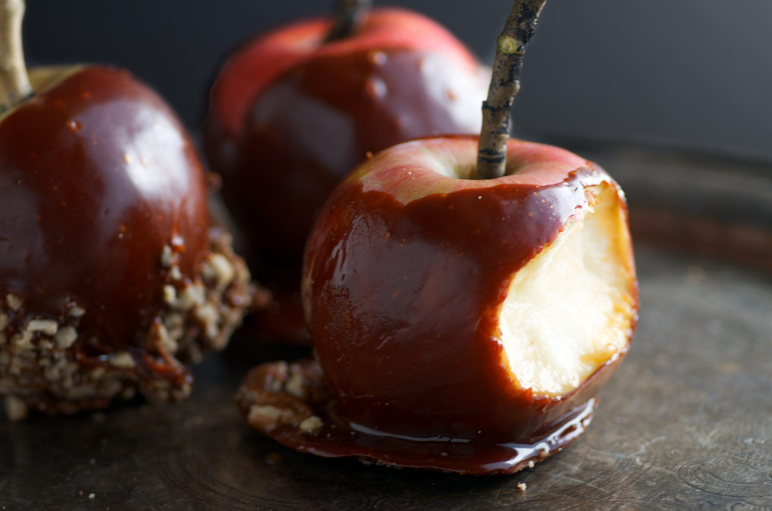 Honey Caramel Apples