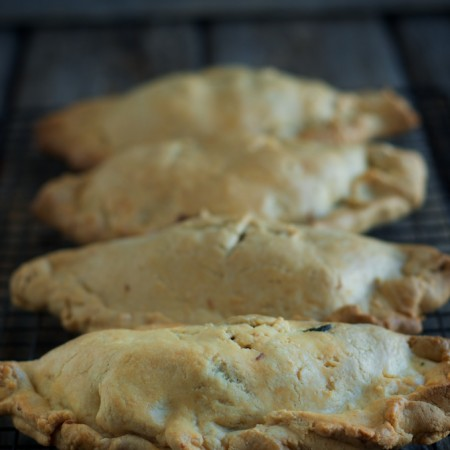 Chicken and Vegetable Turnovers with Sourdough Einkorn Crust