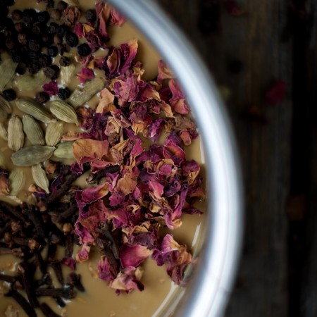 Chai-spiced Molasses Custard