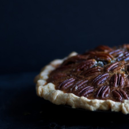 Maple Vanilla Pecan Pie with Sprouted Spelt Crust
