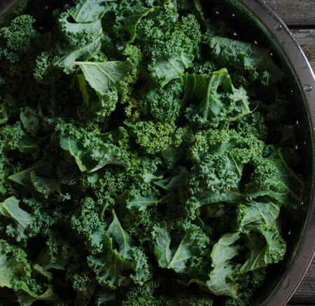 Cheesy Kale Chips with Miso, Garlic and Dulse