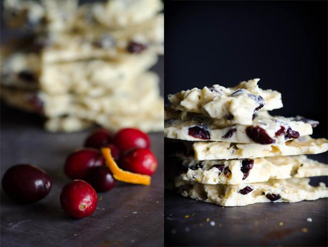 Honey-sweetened White Chocolate Cranberry Bark Recipe — Nourished ...