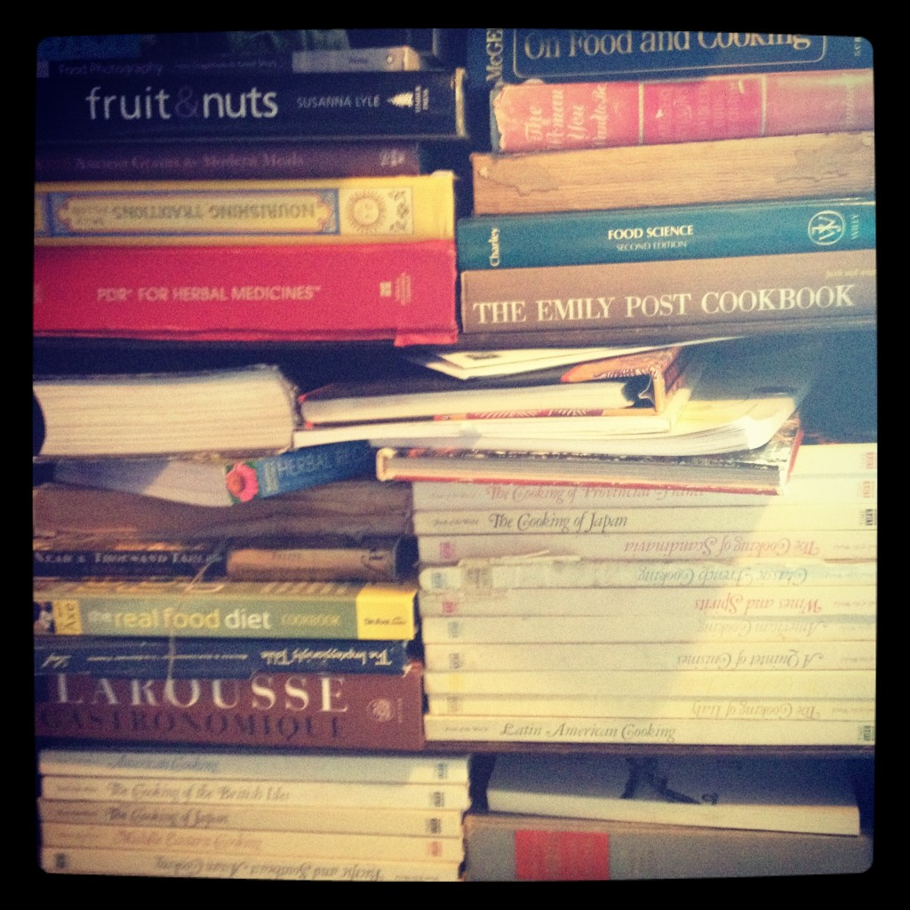 the bookshelf at nourished kitchen
