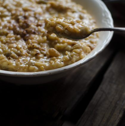 Sweet Risotto with Buttermilk and Sultanas