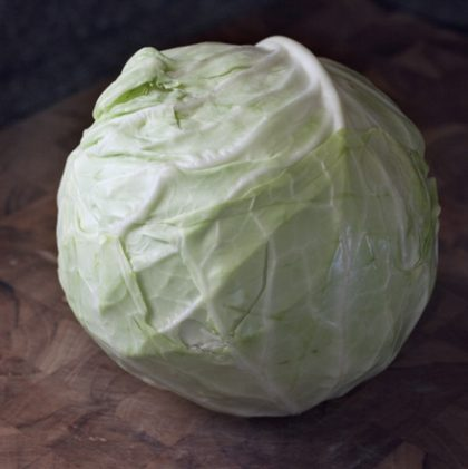 A Simple Recipe for Winter: Roasted Cabbage