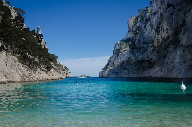 Calanques in Cassis, France