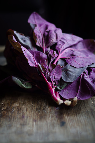 Red Orach: a Leafy Vegetable with a Brilliant Purple Color