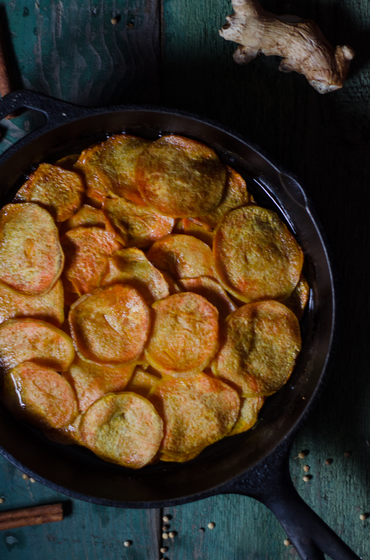 Sweet Potatoes Anna with Spiced Ghee — Nourished Kitchen  Sweet Potatoes ...