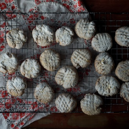 Little Almond and Einkorn Cookies