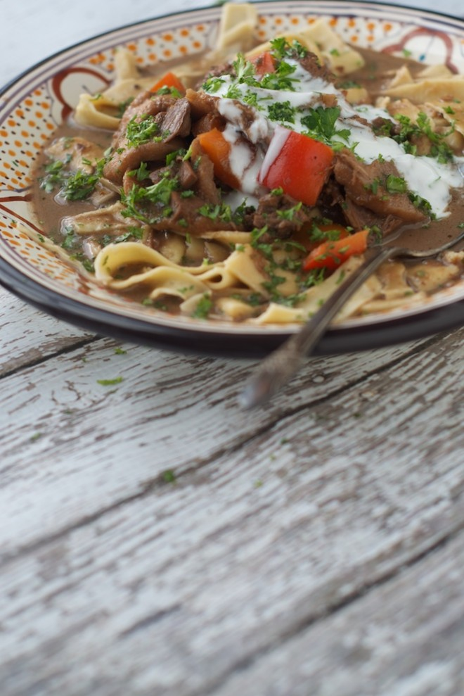 Czarnina: Traditional Polish Duck Blood Soup #nourishedkitchen
