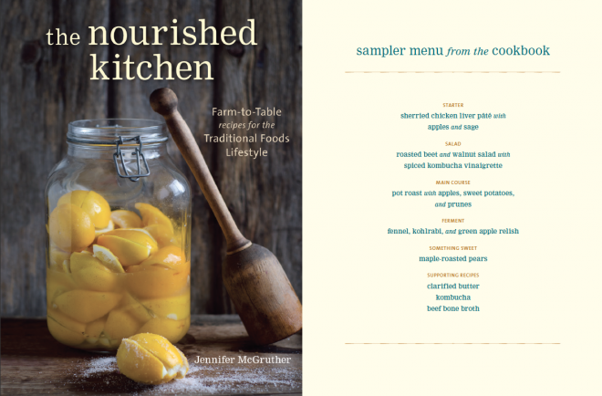 Download an 8-Recipe Sample Menu from The Nourished Kitchen! #nourishedkitchen