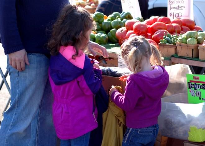Picking produce