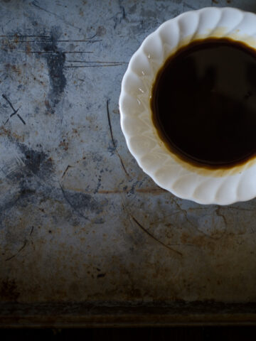 How to Make Homemade Worcestershire Sauce #nourishedkitchen