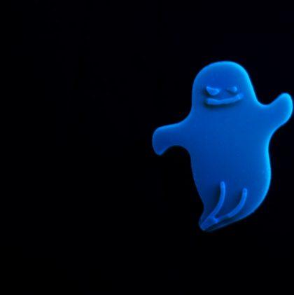 Glowing Ghost Gummies for Halloween