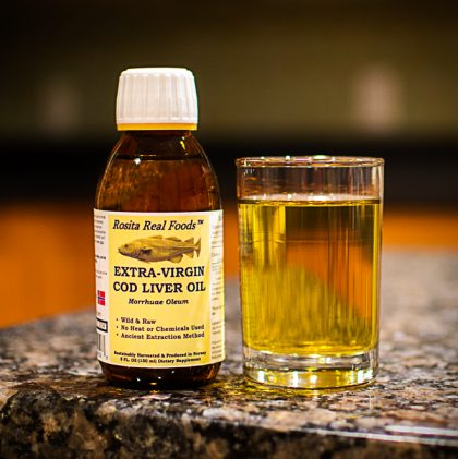 Why My Family Takes Cod Liver Oil Everyday
