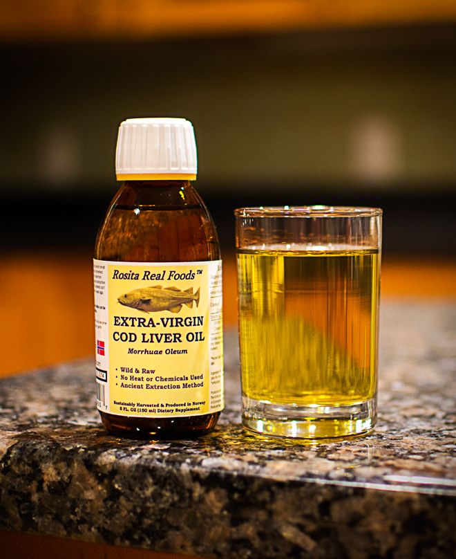 Why my family takes cod liver oil everyday nourished kitchen for Rosita fish oil
