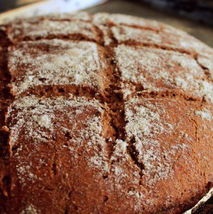 100% Rye Sourdough Baking (Rye Sourdough Boule Recipe)