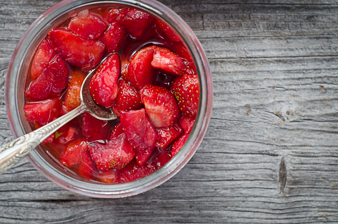 macerated strawberries (1 of 1)