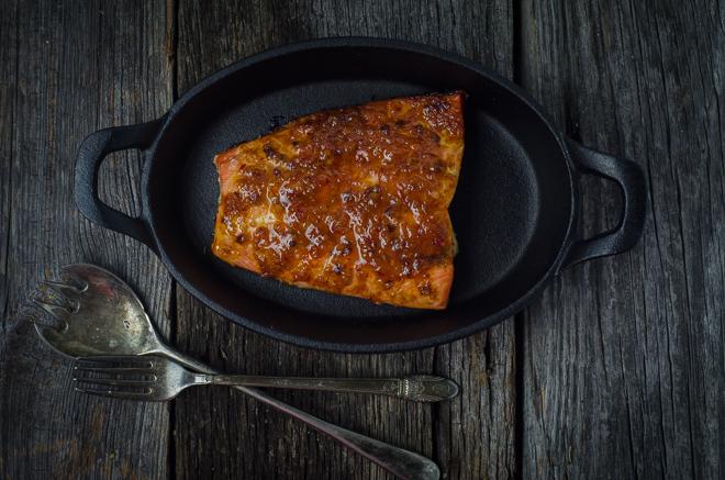 chipotle glazed salmon