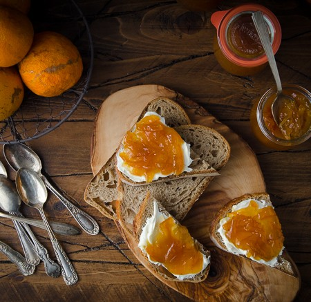 Whiskey and Honey Marmalade