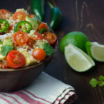 quinoa salad with cumin lime vinaigrette_