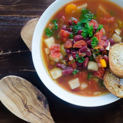 Simplest Kidney Bean and Vegetable Soup