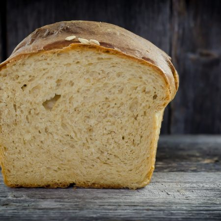 milk and honey sandwich bread horizontal