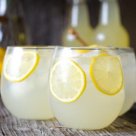 Naturally Fermented, Probiotic Honey Lemonade Soda
